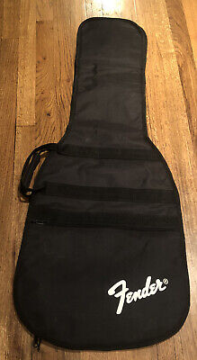 Fender Guitar Soft Padded Travel Carry Case 44x16 Shoulder Strap Nice