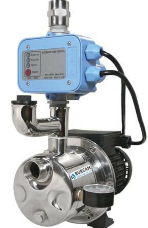 3/4 HP Dual Application Pump Water Pressure Booster Stabilizer Tankless Well Jet