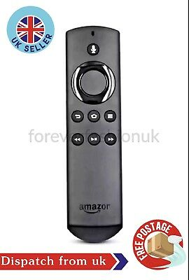 Genuine 2nd Gen Voice Remote Control for Amazon Fire TV And Sticks UK Seller