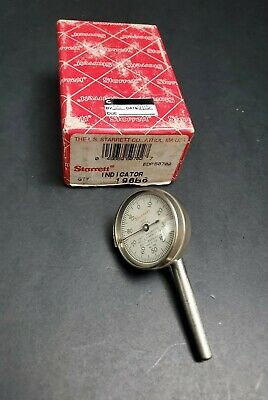 Starrett No. 196 Back Plunger Dial Test Indicator 0.001 Machinist Wide Point