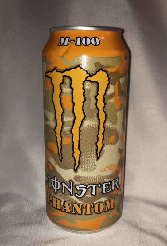Monster Energy Phantom M-100 Unopened Full 16 oz (VERY RARE)