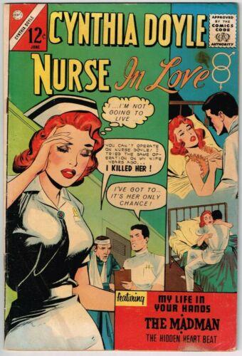Cynthia Doyle, Nurse in Love #70 (1962) - 4.5 VG+ *Charlton Romance*