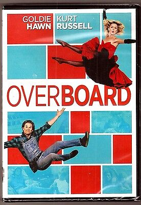 Overboard Dvd Movie Film Goldie Hawn Kurt Russell Brand New