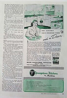 1945 Youngstown kitchens by Mullins started with a dream color AD