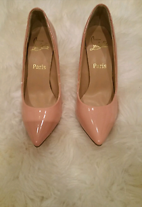 Christian Louboutin nude heels Sydney City Inner Sydney Preview