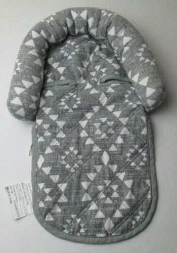 Infant Baby Newborn Head Rest Pillow Gray & White