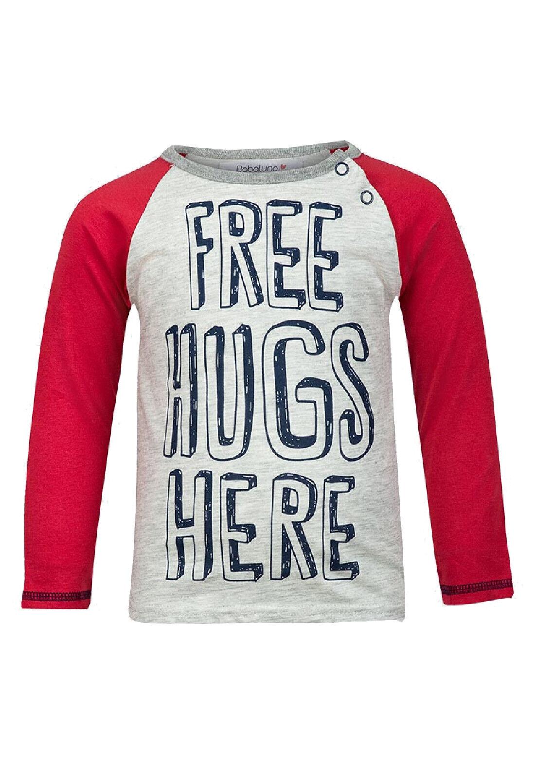 Babaluno Boys Free Hugs T-Shirt