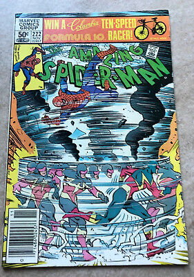The Amazing Spider-man #222 First Appearance of Speed Demon Combined Shipping