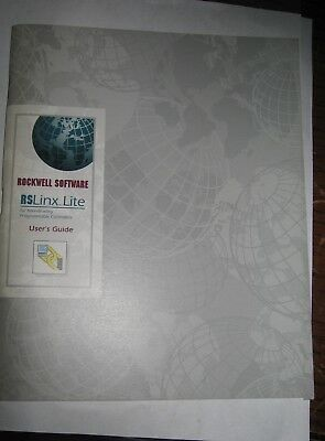 Rockwell Software 9399-wab32lug Rslinx-lite Users Guide Used