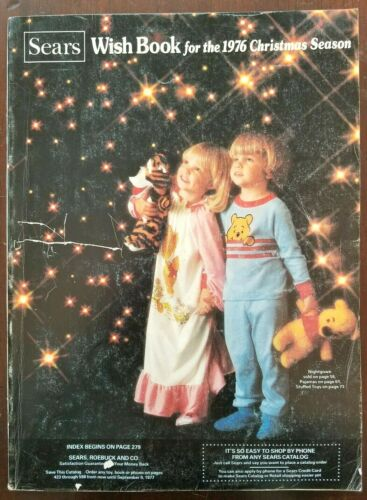 SEARS WISH BOOK ~ 1976 Christmas Catalog ~ Barbie G.I.Joe Evel Knievel Stretch