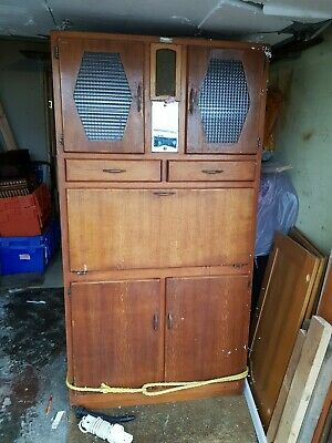 1950s Retro Kitchen - Larder - Pantry - Cabinet With Original Scales