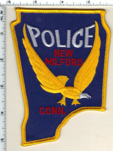 New Milford Police (Connecticut) Shoulder Patch - new from 1992
