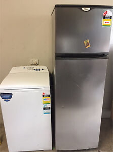 Fridge&freezer +washing machine (free delivery) Boronia Knox Area Preview