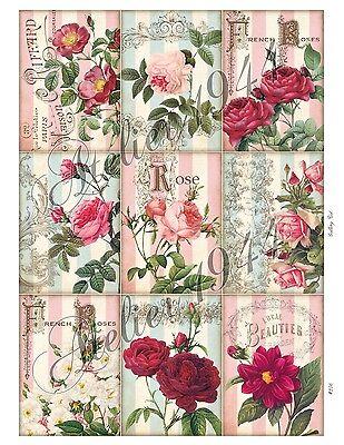 Aufkleber-Möbeltattoo-transparent-Sticker-Shabby-Vintage-Cottage Garden-1006 - Cottage Möbel