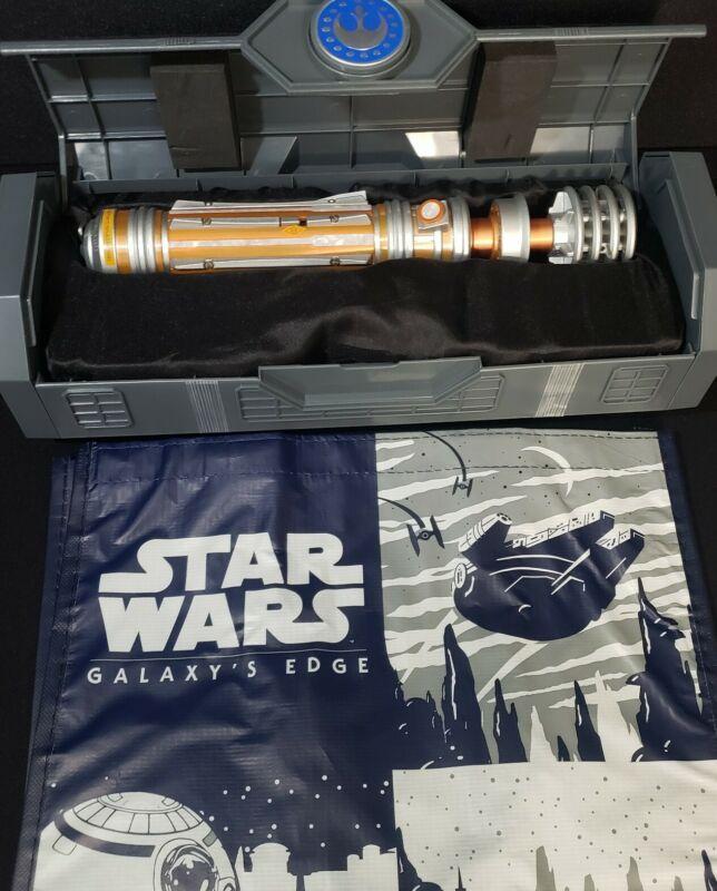 New 2021 Disney Parks Star Wars Galaxys Edge Leia Organa Legacy Lightsaber Hilt