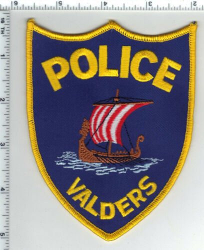 Valders Police (Wisconsin) 2nd Issue Shoulder Patch