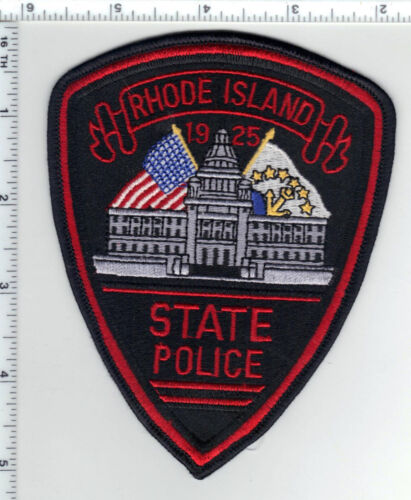 State Police (Rhode Island) 1st Issue Thin Border Shoulder Patch