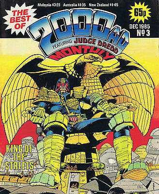 BEST OF 2000 AD FEATURING JUDGE DREDD #3 & #4 - 1985/86 - Brian Bolland