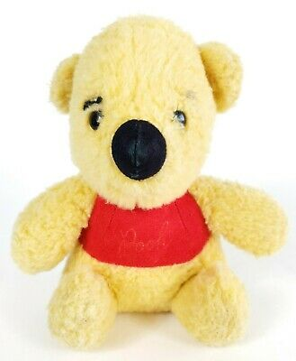 "Walt Disney Productions Winnie The Pooh GUND Sears 8"" Plush Stuffed Toy Vintage"
