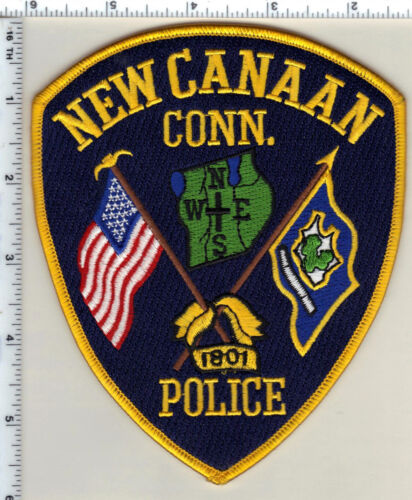 New Canaan Police (Connecticut) Shoulder Patch - new from 1997