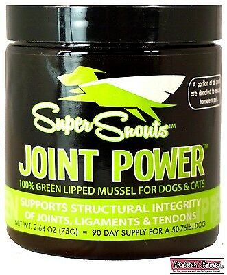 HEALTHY Pet Super Snouts Joint Power Hip Glucosamine PAIN for Dogs Supplement (Power Joint)