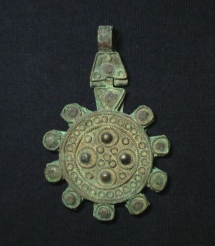 Pre-1800 Medieval Style, Pendant or Single Earing, Oriental Real Antique Jewelry