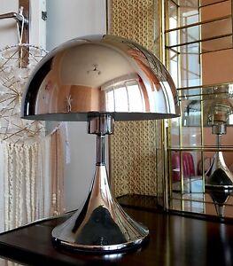 Lampe-champignon-tactile-argentee-style-vintage-deco-design-Scandinave-retro