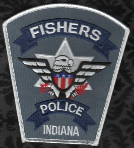 👍👍  Fishers Indiana Police Shoulder Patch  VAR. #2