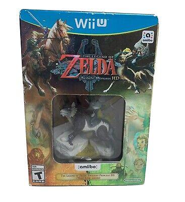New! Legend of Zelda: Twilight Princess HD Amiibo Bundle (Nintendo Wii U, 2016) comprar usado  Enviando para Brazil