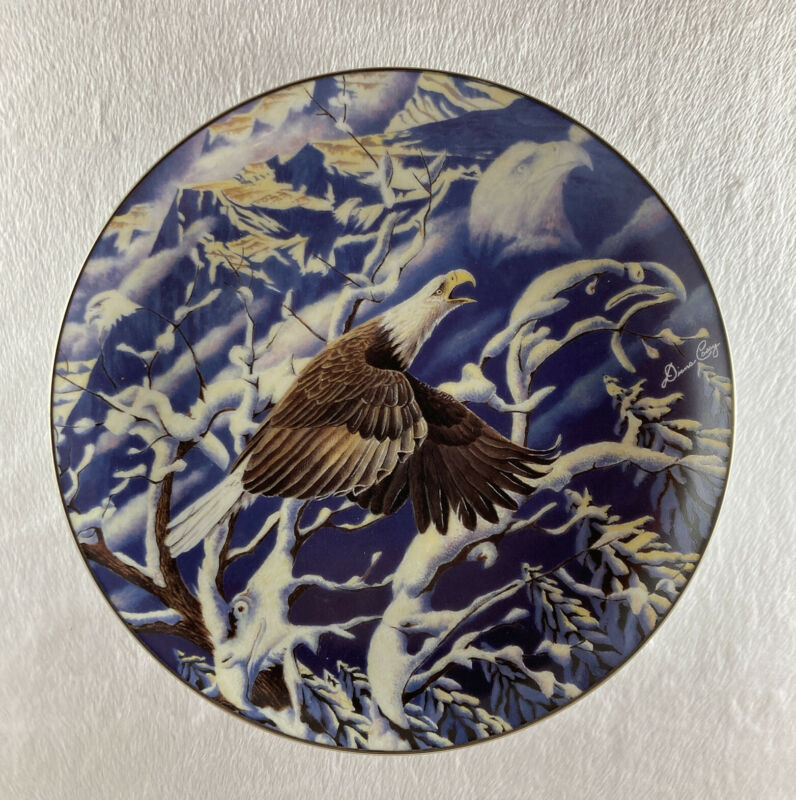 FLIGHT OF A GENERATION Plate Visions from Eagle Ridge Diana Casey Camouflage #2
