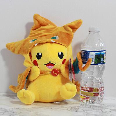Pokemon Go Charizard Hat Pikachu Plush Toy Xmas Thanksgiving Gift Idea Doll 9