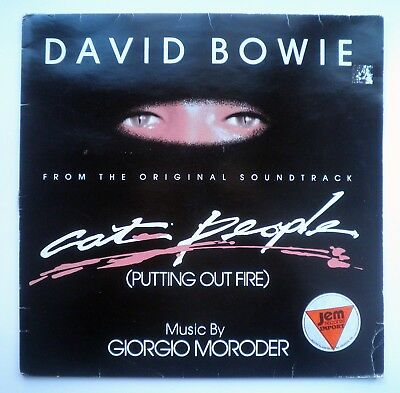 DAVID BOWIE Putting Out Fire from CAT PEOPLE Giorgio Moroder 12