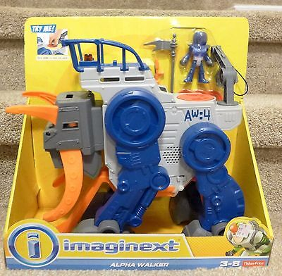 Imaginext NIB Fisher-Price Imaginext Space Alpha