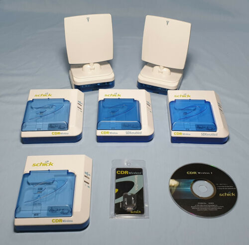 SCHICK CDR WIRELESS DENTAL X-RAY - Receiver - Interface - Battery - CD