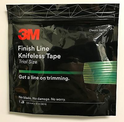 3M FINISH LINE KNIFELESS VINYL WRAP GRAPHIC CUTTING TAPE 1/8
