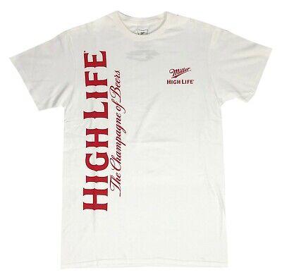 Miller Lite Beer Logo Shield A Fine Pilsner Men/'s T Shirt Sizes S-3XL