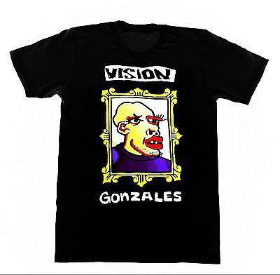 Vision Mark Gonzales GONZ Shirt 89 Tshirt Vintage Skateboard Gator Hosoi Zorlac