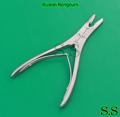 5-pcs Ruskin Rongeurs 6 Surgical Dentalorthopedic Veterinary Instruments