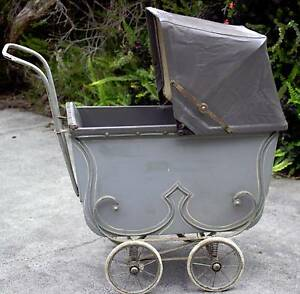 Wooden Doll's Pram circa late 1930's Bayswater Knox Area Preview