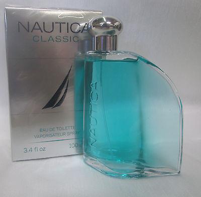 NAUTICA CLASSIC  3.4 OZ / 100 ML EDT SPRAY FOR MEN COLOGNE SEALED  NEW IN BOX segunda mano  Embacar hacia Mexico