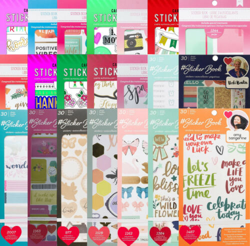 American Crafts Stickers 30 Sheets w/ Foil or Glitter Treatments - YOU Choose!