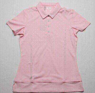 Adidas Mujer Polo (S) Rosa AE081520
