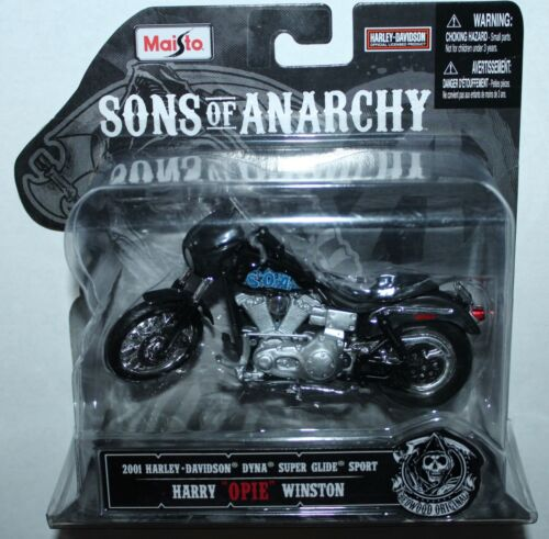 Maisto SONS OF ANARCHY OPIE 1/18 MOTORCYCLE CHOPPER ~ NEW IN BOX