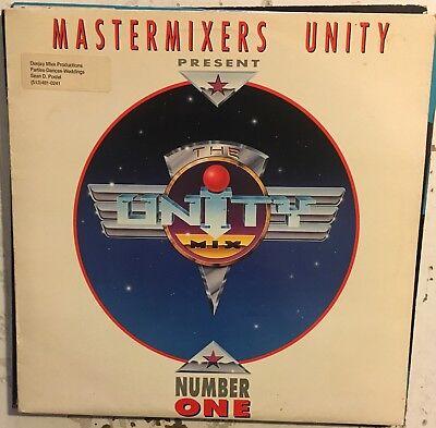 "MASTERMIXERS UNITY The Unity Mix Number One 1 Belgium 12"" DJ Record VG+ EDM"