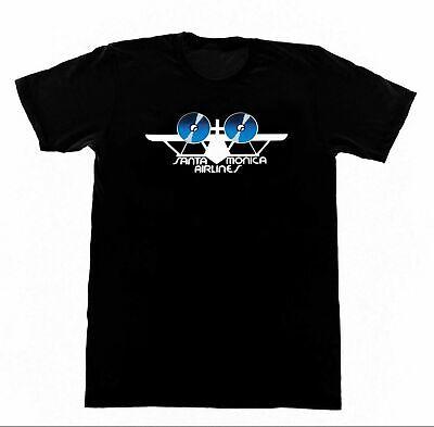 SMA Santa Monica Airlines Tshirt Vintage Skateboard T-Shirt Venice Natas Rocc...