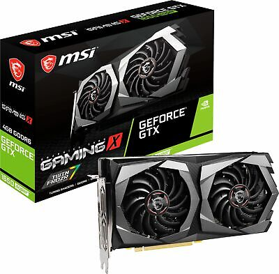MSI - NVIDIA GeForce GTX 1650 SUPER 4GB GDDR6 PCI Express 3.0 Graphics Card -...