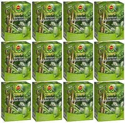Savings Set: 12 x Compo Bamboo Long Run Fertilizer, 700 G