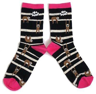 Damen Lazy Trägheiten Rumhängen Stripey Blue Socken Uk 08.04 Eur 37-42 Usa 6-10