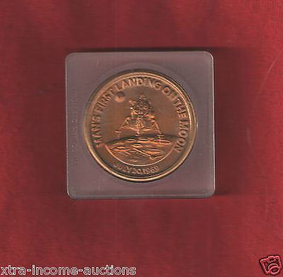 NASA First Man on Moon 1969 Apollo 11 Mission Commemorative Coin Space