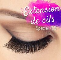 Extension de cils, eyelashes extension